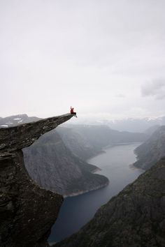 tongue of troll, Norway