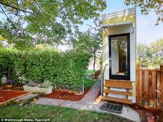 We could live here...it is so cute! Montlake Spite House in Seattle, Washington
