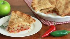 Perfect for Thanksgiving dinner or any holiday meal, this jalapeno apple pie has a surprising sweet heat twist on the classic.