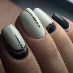 Elegant Nail Designs, Cute Nail Designs, Fabulous Nails, Perfect Nails, Cute Nails, My Nails, Nail Drawing, Geometric Nail, Party Nails