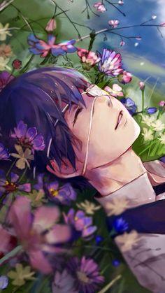 """""""Lay me in a bed of flowers. """" -Tokyo ghoul Kaneki Ken"""