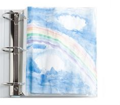 Kids' artwork  Fill a binder with roomy, durable plastic sleeves -- the heavy-duty type that holds 50 sheets.