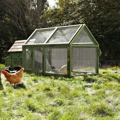 I want this!!  Briar Extended Chicken Coop & Run   Williams-Sonoma