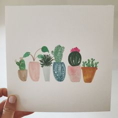 POTTED SUCCULENTS by kenandco on Etsy