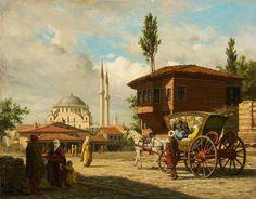 Istanbul, / … www. Istanbul, / … www.tarihtenincil … Istanbul, / to financing is Good Old Times, Turkish Art, Historical Art, Ottoman Empire, Large Art, Islamic Art, Art Reproductions, American Artists, Illustrations