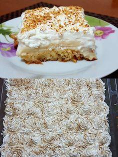 χρήσεις Krispie Treats, Rice Krispies, Greek Desserts, Something Sweet, Vanilla Cake, Sweets, Recipes, Food, Tips