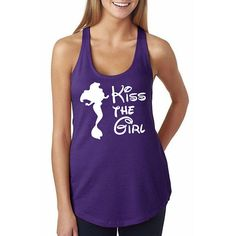 Disney's The Little Mermaid Shirt // Kiss the Girl by HimAndGem