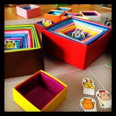 lots of them!  #chinhako #box #origami - @chinhako- #webstagram
