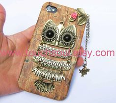 owlalice rabbitIphone Case iPhone 4 Case iphone 4 by touchsoul, $11.50