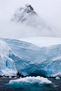 Hidden Bay, Antarctica   Some day I want to go here just to photograph it!