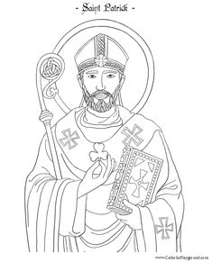 st patrick trinity coloring pages - photo#13