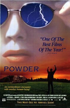 Powder Movie 1995 | Us poster from the movie Powder (Powder) - click to see it in full ...