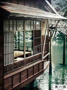 A lakeside tea room (and maybe place for meditation?)Kenrokuen, Kanazawa, JapanA lakeside tea room (and maybe place for meditation? The Places Youll Go, Places To See, Kanazawa Japan, Geisha, Japan Travel, Places To Travel, Travel Destinations, Beautiful Places, Around The Worlds