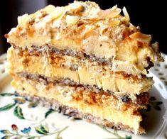 Mulți spun că e cel mai bun tort din lume! No Cook Desserts, Sweets Recipes, Baking Recipes, Cake Recipes, Romanian Desserts, Romanian Food, Specialty Cakes, Eat Dessert First, Cakes And More