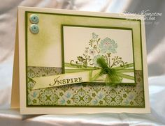 Stampin' Up! SU by Selene Kempton, stamp4Fun.net  Fresh Vintage & Everyday Enchantment dsp
