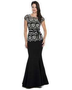 Emma Street EST228 Cap Sleeve Dress $118