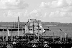 Brest 2016 - Fête Maritime The Great International - During the Fete Maritime in Brest. International reunion of historical sailboats