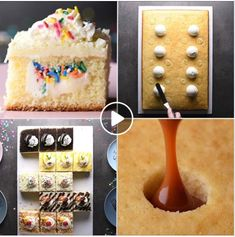 Wow your guests with these cake hacks! If you love cake recipes, you'll get a kick out of this one. Cake Mix Recipes, Easy Cookie Recipes, Baking Recipes, Sweet Recipes, Cookie Tips, Baking Hacks, Rib Recipes, Fun Desserts, Delicious Desserts