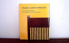 1989 Frank Lloyd Wright 1st Edition Book Color Plates Photos and Drawings. $24.00, via Etsy.
