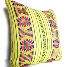 Mexican Decorative Pillow in by CityGirlsDecor
