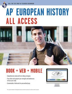 AP European History All Access Book + Online + Mobile
