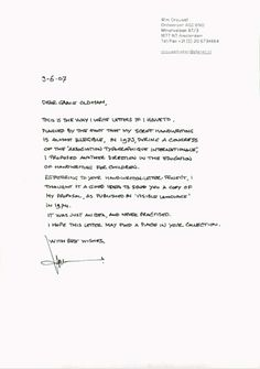HAND.WRITTEN.LETTER.PROJECT – The Dots