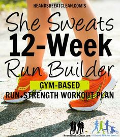This one is geared toward helping you build and maintain muscle while keeping your running shoes laced up.