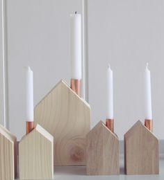 Kerzenständer - *Kerzen*Haus - ein Designerstück von vnf-handmade bei DaWanda