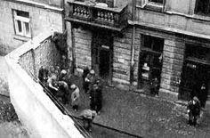 Warsaw Ghetto walls.