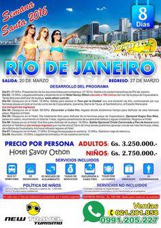RIO DE JANEIRO Semana Santa 2016