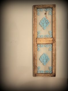 Very old antique window with embellishments