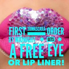 Love make up?Love to win!? Love free stuff? Be the first to order to win!!