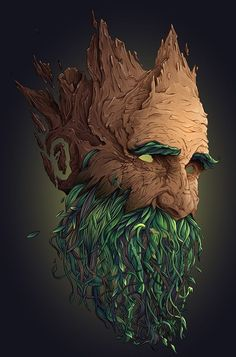 How to Create Vegetal Mask Step by step in Illustrator CC