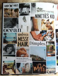 Arrange your photos into a beautiful collage. Wreck This Journal, My Journal, Fitness Journal, Journal Notebook, Faire Un Album Photo, Round Robin, Scrapbook Journal, Tumblr Scrapbook, Scrapbook Photos