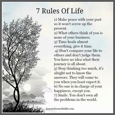 Lessons Learned in Rules of Life. - Lessons Learned in Life Wisdom Quotes, Me Quotes, Motivational Quotes, Inspirational Quotes, Qoutes, End Of Life Quotes, Time Heals Quotes, 7 Rules Of Life, Quotes About Strength