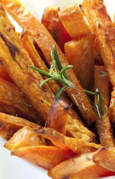 Try our sweet potato fries recipe and save for snacking!