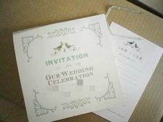 手作り招待状