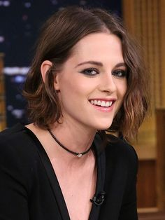 Kristen Stewart's smudgy black eyeliner - we've got the how-to from makeup artist Beau Nelson!