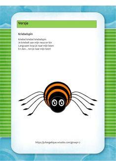 Versje: Kriebelspin Yoga For Kids, Fall Crafts, Mathematics, Einstein, Preschool, Children, Spider, Autumn Crafts, Math