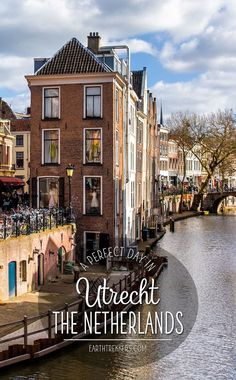 How to spend one perfect day in Utrecht, the Netherlands. Best places to visit, where to eat, and tips to have the best experience. Utrecht makes a great day trip from Amsterdam. Top 10 Places To Visit. Day Trips From Amsterdam, Amsterdam City, Amsterdam Travel, Utrecht, Rotterdam, Cool Places To Visit, Places To Travel, Travel Destinations, Places To Go