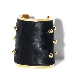 WIDE PONY CUFF..........Vince Camuto