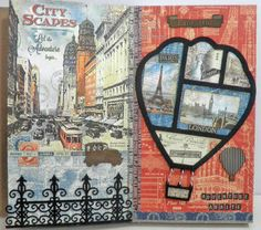 Black Hole Art Studio: Art Journaling with Gypsy Soul Laser Cuts and Graphic 45