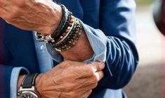 Для чего мужчины носят браслеты