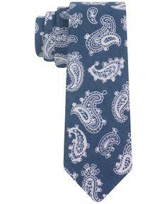 Tommy Hilfiger Burb Paisley Skinny Tie