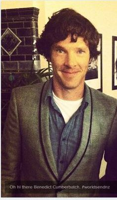 Benedict Cumberbatch at the Wellington, New Zealand premiere of 'The World's End', July 13, 2013.