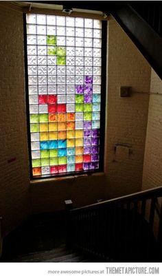 Best use of glass block windows ever