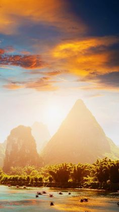 Yangshuo in Guilin , China