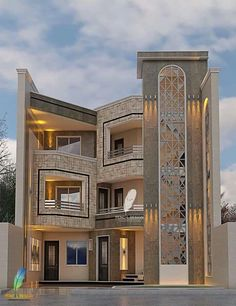 66 Beautiful Modern House Designs Ideas - Tips to Choosing Modern House Plans Modern Exterior Design Ideas Luxury Home Modern Exterior House Designs, Modern Villa Design, Bungalow Exterior, Dream House Exterior, Modern House Plans, Exterior Design, Exterior Paint Colors For House, Paint Colors For Home, House Colors
