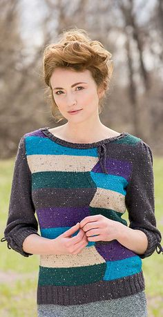Ravelry: Bluestack Sweater pattern by Rene Dickey