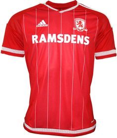 Middlesbrough 2015-16 adidas Home Kits